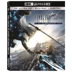 final fantasy advent children blu ray 4k visuel produit