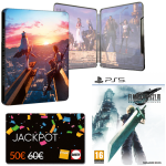final fantasy intergrade ps5 avec steelbook offre jackpot visuel produit