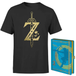lot t shirt zelda avec carnet
