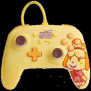 manette filaire améliorée powerA pour nintendo switch Animal Crossing visuel produit