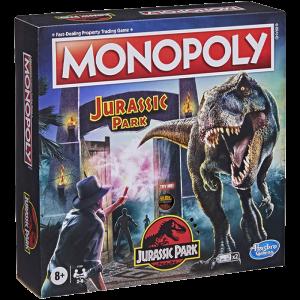 monopoly jurassic park officiel visuel produit