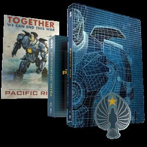 pacific rim blu ray 4k titans of cult visuel produit