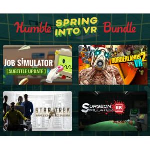 pack humble bundle VR printemps 2021 visuel produit
