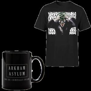 promo t shirt killing joker avec mug visuel produit