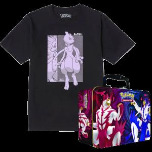 t shirt collection pokémon avec boîte collector visuel produit