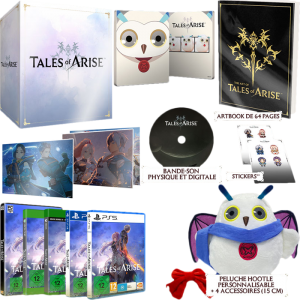 tales of arise edition collector Hootle PS4 PS5 Xbox One Series X PC visuel produit
