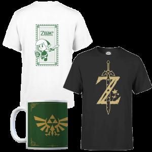 visuel produit promo t shirt zavvi avec mug