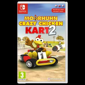 Moorhuhn Crazy Chicken Kart 2 switch visuel produit