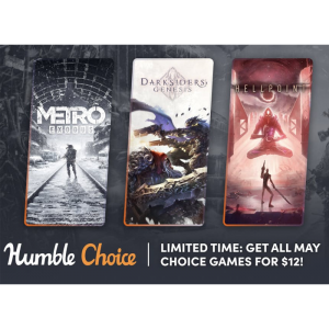 Pack Choice Mai 2021 humble bundle visuel produit
