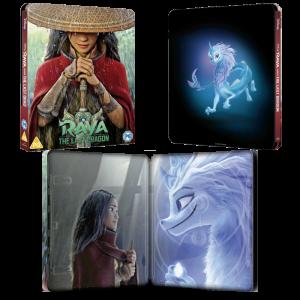 Raya et le dernier Dragon Blu Ray 4K Steelbook visuel produit final