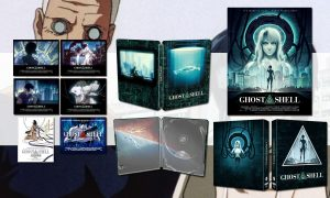 SLIDER ghost in the shell 4K steelbook edition limitee