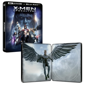 X-Men Dark apocalypse Blu ray 4K steelbook visuel produit final