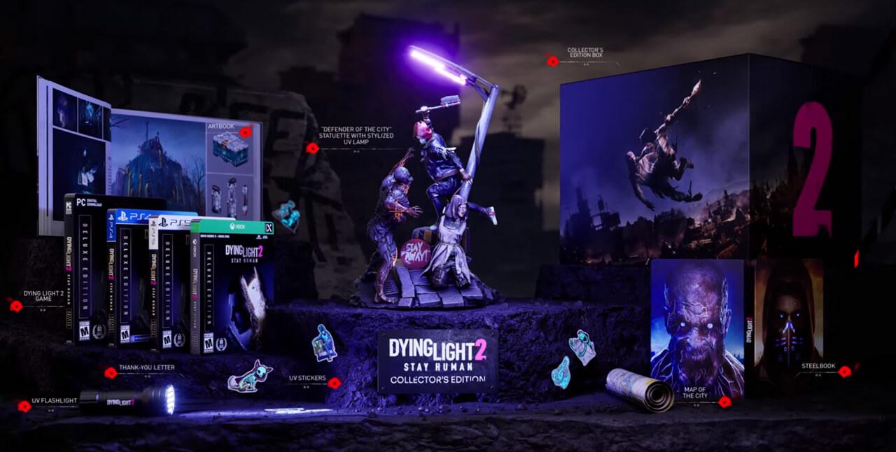 collector dying light 2 visuel slider détaillé