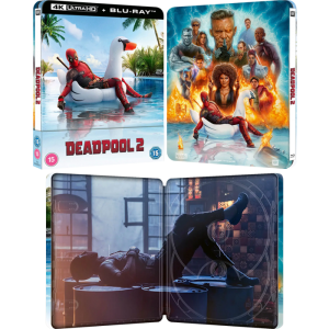 deadpool 2 4k steelbook visuel produit