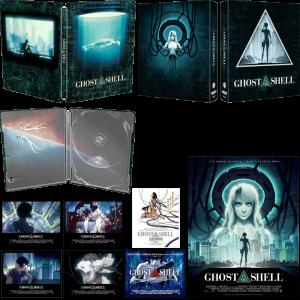 ghost in the shell 4K steelbook edition limitee visuel produit