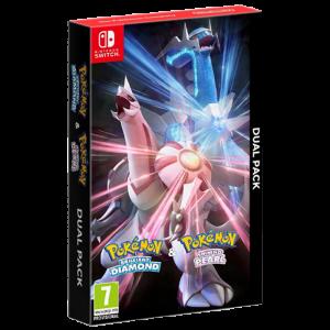 pokémon diamant perle dual pack visuel produit