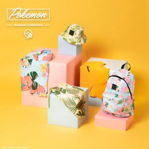 Collection Pokemon Summer visuel produit
