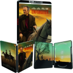 Impitoyable Blu Ray 4K Steelbook visuel produit final