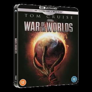 La guerre des mondes Blu Ray 4K Steelbook (exclu Fnac) visuel produit