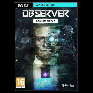 Observer System Redux Day One Edition sur PC visuel produit
