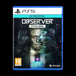 Observer System Redux Day One Edition sur PS5 visuel produit