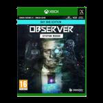Observer System Redux Day One Edition sur xbox visuel produit