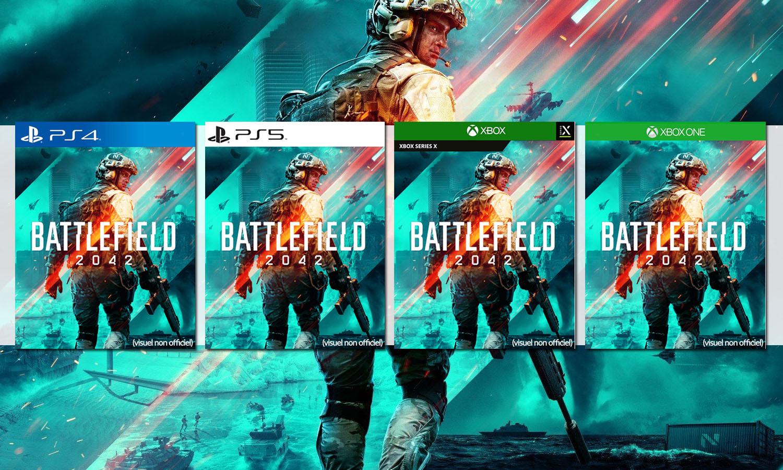 SLIDER battlefield 2042 ps4 ps5 xbox series x xbox One multi visuel provisoire