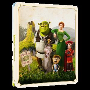 Shrek 4K Steelbook visuel produit