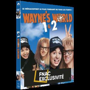 Wayne's World Blu Ray Compilation 1 et 2 visuel produit
