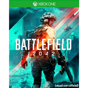 battlefield 2042 xbox one visuel produit provisoire