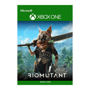 biomutant Xbox digital visuel produit