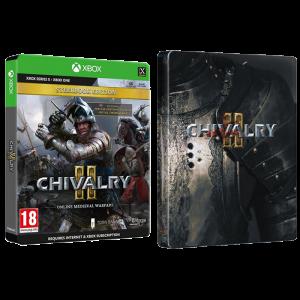 chivalry 2 steelbook edition xbox visuel produit