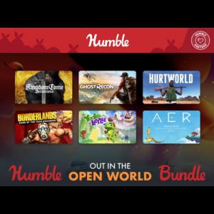 pack humble bundle open world visuel produit