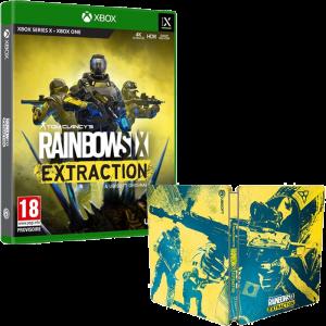 r6 extraction xbox+ steelbook visuel produit