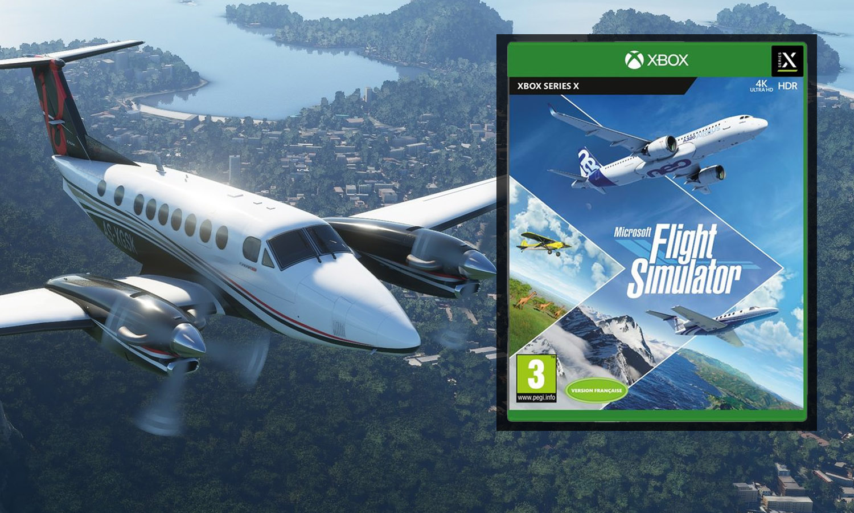 Test de Flight Simulator sur Xbox Series X : un vol immersif mais imparfait