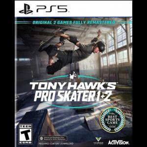tony hawk pro skater 1 + 2 ps5 visuel produit