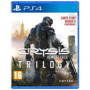 Crysis remastered trilogy visuel produit ps4