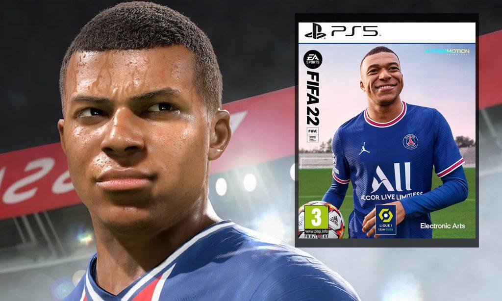 Fifa 22 PS5 visuel slider