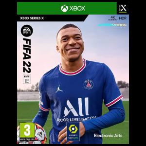 Fifa 22 Xbox series x visuel produit