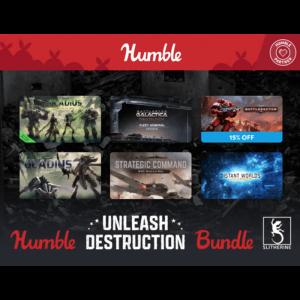 Pack de jeux Destruction humble bundle visuel produit