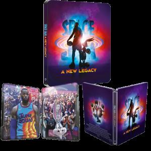 Space Jam Nouvelle Ère Steelbook 4K Ultra HD visuel produit