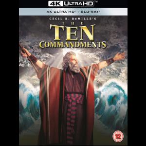 les dix commandements blu ray 4k steelbook visuel produit