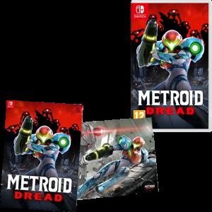 metroid dread poster switch visuel produit