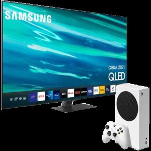 pack samsung tv Qled 163 cm avec xbox series s visuel produit
