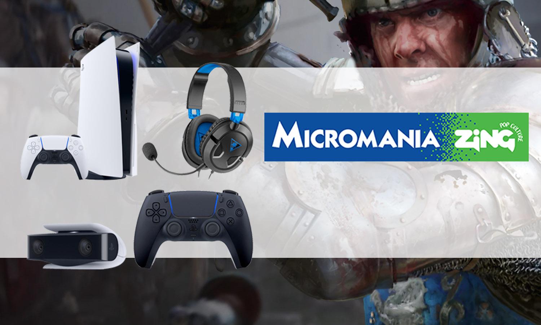 slider pack digital ps5 micromania avec dualsense noire casque