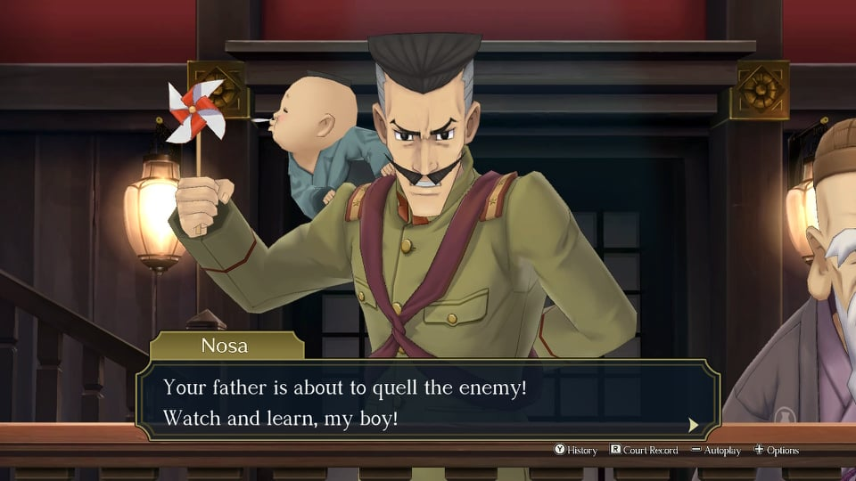 test the great ace attorney chronicles switch screenshot 1