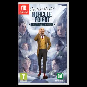 Agatha Christie Hercule Poirot The First Cases sur Switch visuel produit