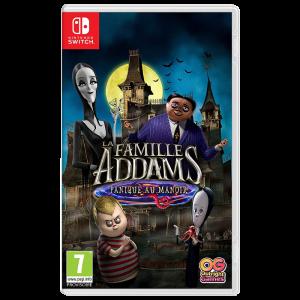 La Famille Addams Panique au Manoir sur Switch visuel produit
