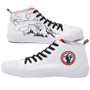 chaussures akedo x dracaufeu visuel produit