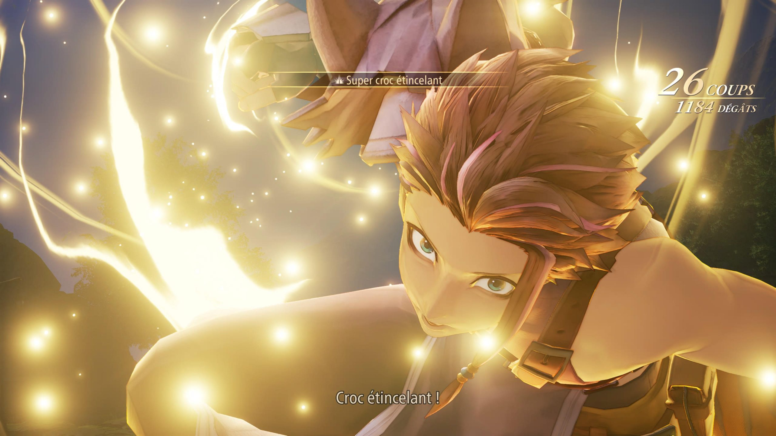 démo tales of arise screenshot démo ps5 combats